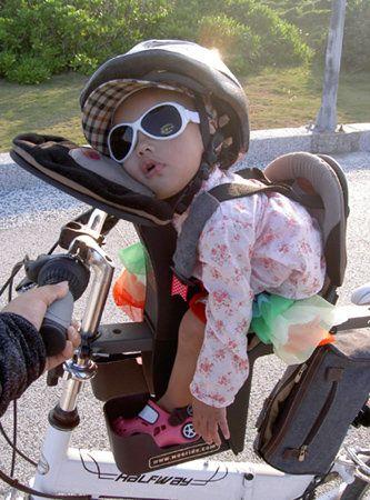 Silla delantera trasera o mejor un carro tienda tu beb seguro - Silla portabebes bicicleta ...