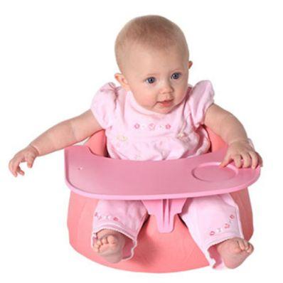 Silla con bandeja koala rosa tienda tu beb seguro for Sillas para guaguas