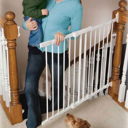 Kidco safeway puerta seguridad escalera blanca tienda tu beb seguro - Seguro para puertas bebe ...