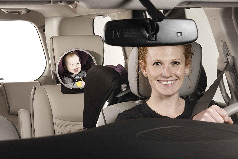 Diono espejo para auto easy view 360 tienda tu beb seguro for Espejo seguridad bebe