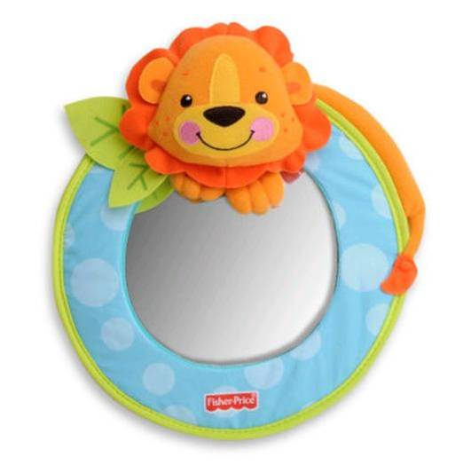 Espejo Para Auto Lion Fisher Price Tienda Tu Beb Seguro