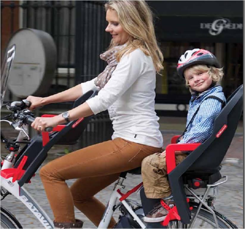 Silla trasera bicicleta guppy maxi flotante azul tienda - Sillas para bicicletas para ninos ...