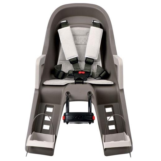 Guppy maxi mini silla beb bicicleta delantera gris tienda tu beb seguro - Silla bebe bicicleta delantera ...